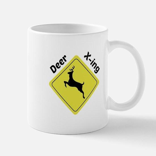 Deer X-ing Mugs
