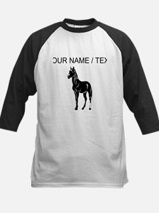 Custom Black Horse Baseball Jersey