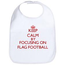 Keep Calm by focusing on Flag Football Bib
