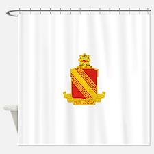 44th Air Defense Artillery Regiment Shower Curtain