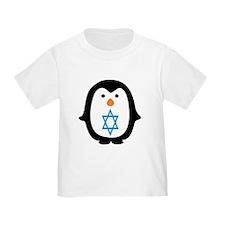 PENQUIN WITH JEWISH STAR T-Shirt