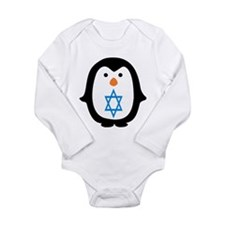 PENQUIN WITH JEWISH STAR Body Suit