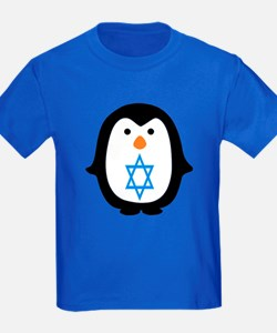 PENQUIN WITH JEWISH STAR T-Shirt