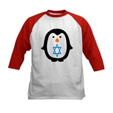 PENQUIN WITH JEWISH STAR Baseball Jersey