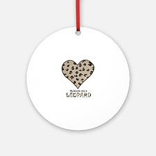 Favorite Color Is Leopard Ornament (Round)