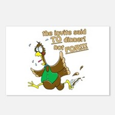 Turkey Dinner! Postcards (Package of 8)