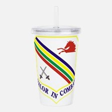354th Fighter Wing.png Acrylic Double-wall Tumbler