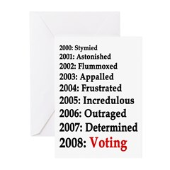 2008: Voting Greeting Cards (Pk of 10)