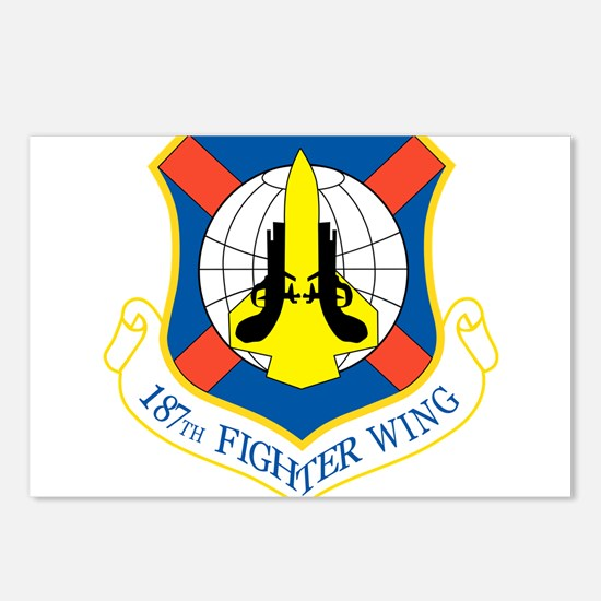187th Fighter Wing.png Postcards (Package of 8)
