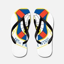 187th Fighter Wing.png Flip Flops