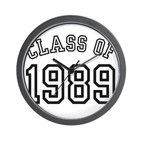 Class of 1989 Wall Clock