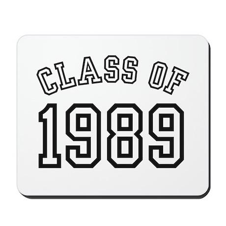 Class of 1989 Mousepad