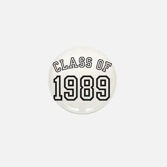 Class of 1989 Mini Button