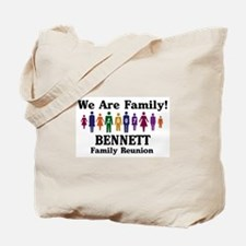 BENNETT reunion (we are famil Tote Bag