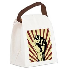 Cute Occupy Canvas Lunch Bag