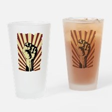 Cute Revolution Drinking Glass