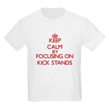 Keep Calm by focusing on Kick S T-Shirt