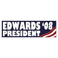John Edwards '08 (Bumper Sticker)