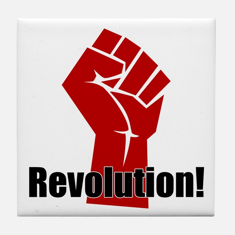 Revolution! Tile Coaster
