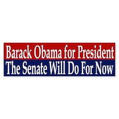 Barack Obama for President (sticker)