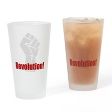 Revolution! Drinking Glass