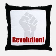 Revolution! Throw Pillow
