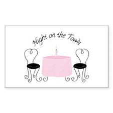 Night On Town Decal