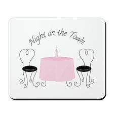 Night On Town Mousepad