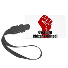 Citizens United Luggage Tag