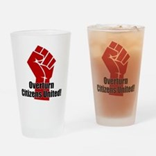 Citizens United Drinking Glass