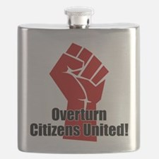 Citizens United Flask