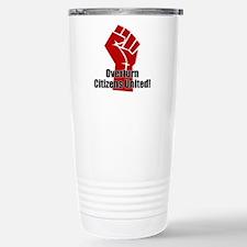 Citizens United Stainless Steel Travel Mug