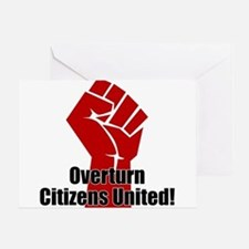 Citizens United Greeting Card