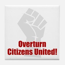 Citizens United Tile Coaster