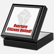 Citizens United Keepsake Box