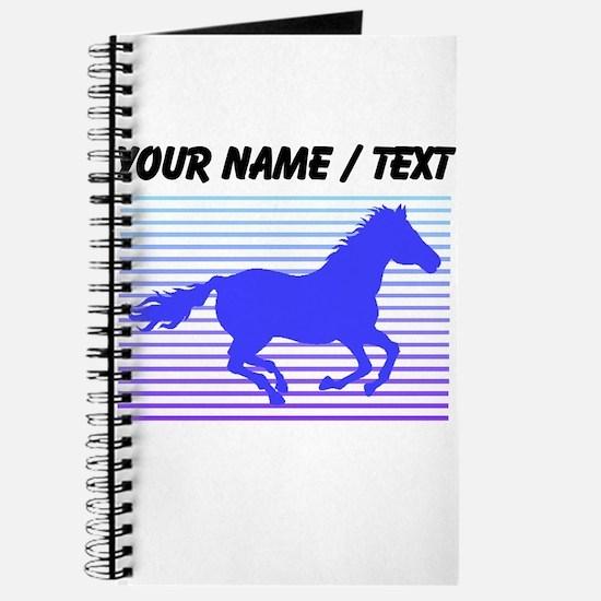 Custom Horse Graphic Journal