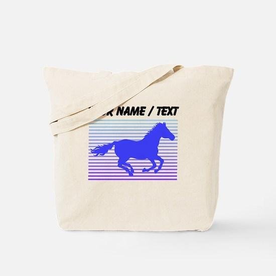 Custom Horse Graphic Tote Bag