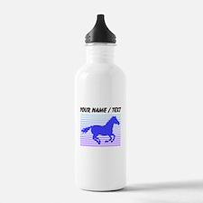 Custom Horse Graphic Water Bottle