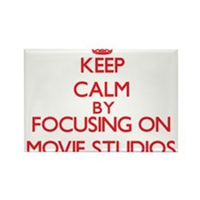 Keep Calm by focusing on Movie Studios Magnets
