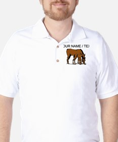 Custom Horse And Colt T-Shirt