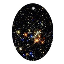 Quintuplet Cluster Astronomy Christmas Ornament
