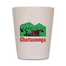 Chatanogga train Shot Glass