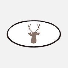 Deer Head Patches