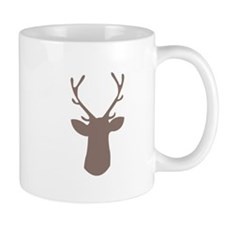 Deer Head Mugs