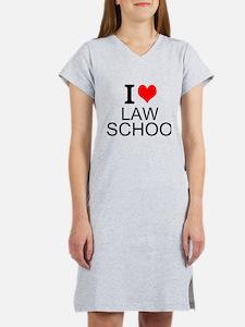 I Love Law School Women's Nightshirt