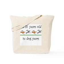 3 dog birthday Tote Bag