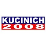 Kucinich 2008 (Bumper Sticker)