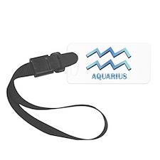 Aquarius Luggage Tag