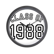Class of 1988 Wall Clock