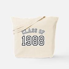 Class of 1988 Tote Bag